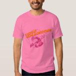 Armageddon video - para hombre rosado 80s remera