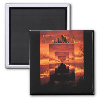 Armageddon's Child 2 Inch Square Magnet
