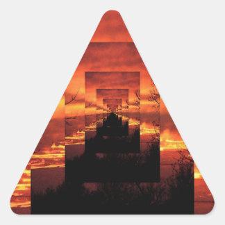 Armageddon's Child: Infinie Worlds Triangle Sticker