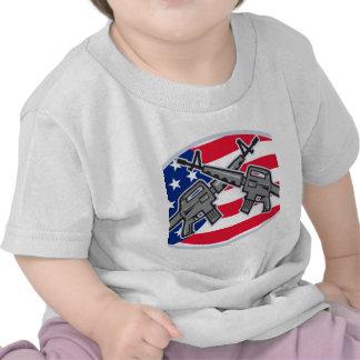 Armalite M-16 AR-15 Assault Rifle T-shirts