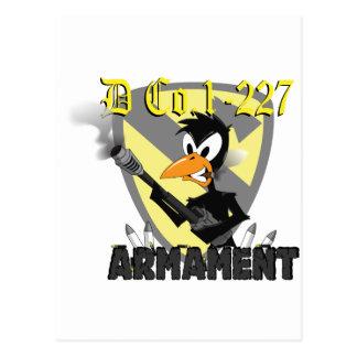 armament postcard