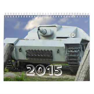 Armamento II de la guerra mundial Calendario De Pared