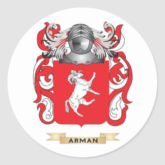 Arman Coat of Arms (Family Crest) Sticker