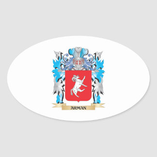Arman Coat Of Arms Oval Stickers