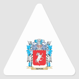 Arman Coat Of Arms Triangle Sticker