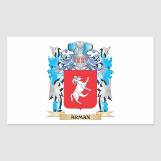 Arman Coat Of Arms Rectangle Stickers