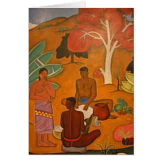 Arman Manookian Painting - Card