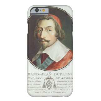 Armand Jean Duplessis, cardenal, Duc de Richelieu Funda De iPhone 6 Barely There