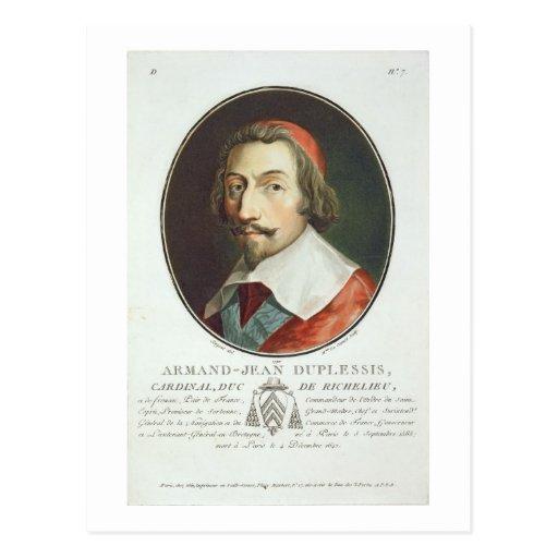Armand Jean Duplessis, cardenal, Duc de Richelieu Postales