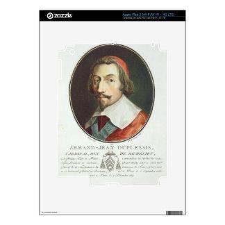Armand Jean Duplessis, Cardinal, Duc de Richelieu iPad 3 Skin