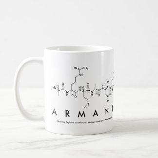 Armand peptide name mug