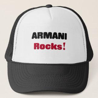 Armani Rocks Trucker Hat