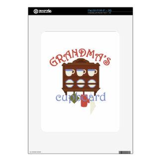 Armario de las abuelas calcomanía para iPad