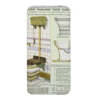 Armario de Tritón de un catálogo de las mercancías Funda Acolchada Para iPhone