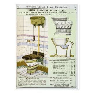 Armario de Tritón de un catálogo de las mercancías Tarjetas Postales