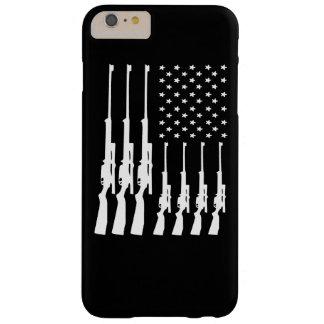 Armas americanos funda de iPhone 6 plus barely there