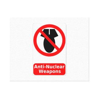 Armas antinucleares lona estirada galerias