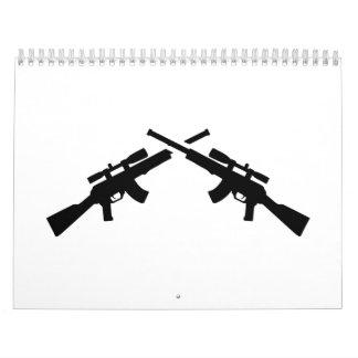 Armas de Airsoft Calendarios De Pared