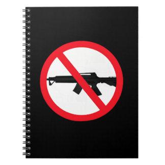 Armas de asalto de la prohibición libros de apuntes