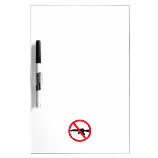 Armas de asalto de la prohibición pizarras blancas de calidad