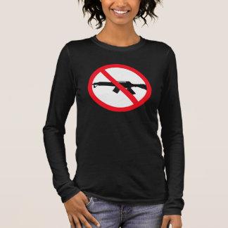 Armas de asalto de la prohibición playera de manga larga