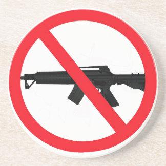 Armas de asalto de la prohibición posavasos manualidades