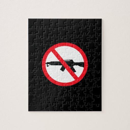 Armas de asalto de la prohibición puzzles con fotos