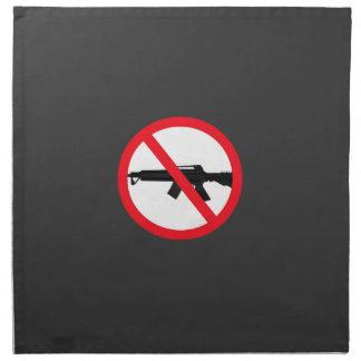 Armas de asalto de la prohibición servilletas