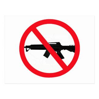 Armas de asalto de la prohibición tarjeta postal