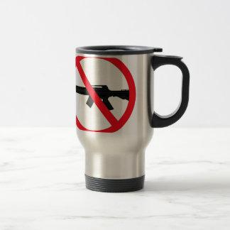 Armas de asalto de la prohibición taza de viaje de acero inoxidable