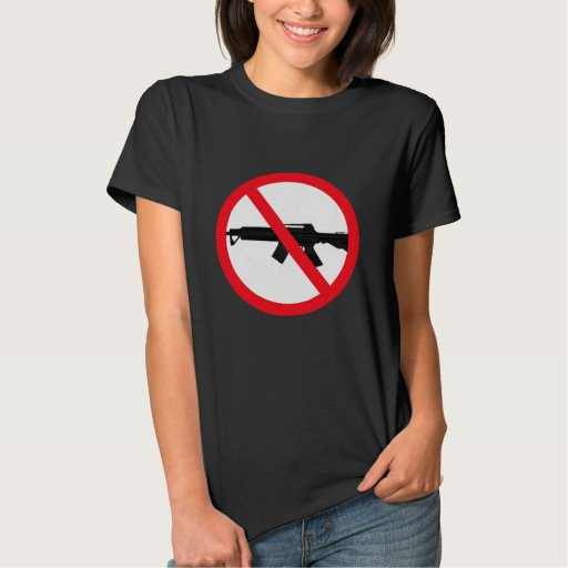 Armas de asalto de la prohibición tshirt