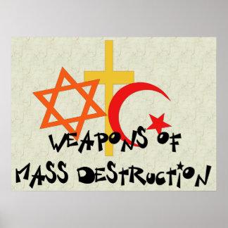 Armas de destrucción masiva poster
