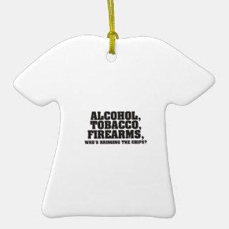 ¿Armas de fuego del tabaco del alcohol quién está  Ornamento Para Reyes Magos