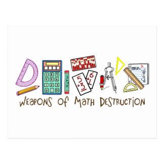 Armas de la destrucción de la matemáticas postal