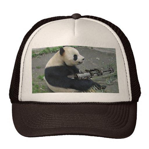 armas de la necesidad de la panda gorro de camionero