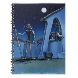 Armas de Velando - dibujo animado del Don Quijote Libretas