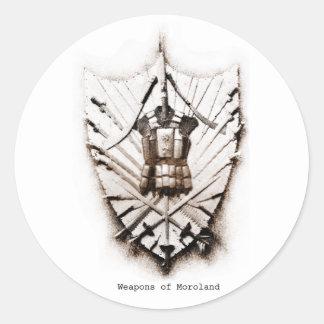 Armas del pegatina de Moroland