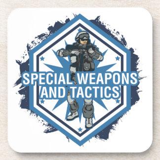 Armas especiales y táctica posavasos de bebida