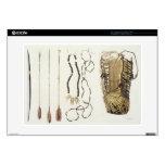 Armas, herramientas y joyería de Puri y de Botocud Skins Para 38,1cm Portátil