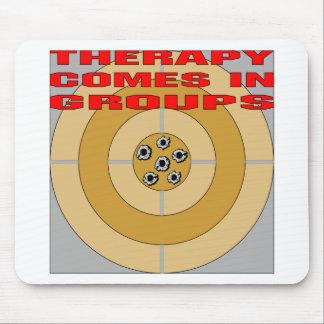Armas La terapia viene en grupos Tapetes De Ratones