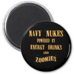 Armas nucleares de la marina de guerra accionadas  imanes