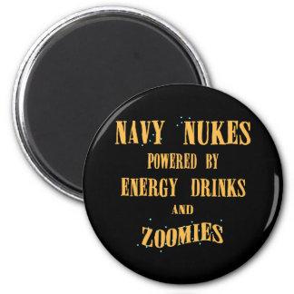 Armas nucleares de la marina de guerra accionadas  imán redondo 5 cm