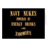 Armas nucleares de la marina de guerra accionadas  tarjeta de felicitación