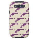 Armas púrpuras galaxy s3 carcasa