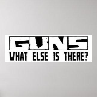 ¿Armas qué más está allí? Impresiones