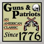 Armas y patriotas posters
