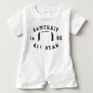 Armchair All Star Football Baby Romper
