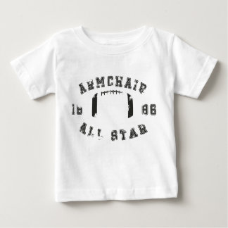 Armchair All Star Football Baby T-Shirt