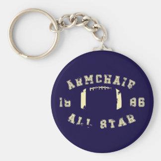 Armchair All Star Football Keychain