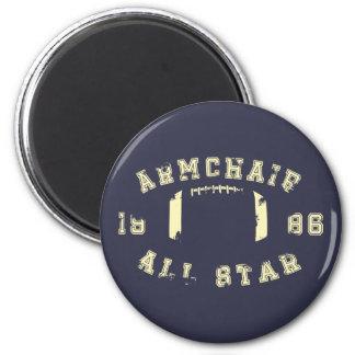 Armchair All Star Football Magnet